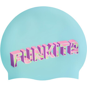 Funkita Silicone Swimming Cap, summer bay
